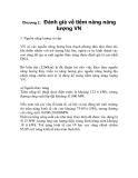 Chương 2: Đánh giá về tiềm năng năng lượng Việt Nam