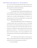 Cty Kinh Đô với việc hòan thiện công tác thẩm định dự án đầu tư tài chính - 9