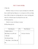 Giáo án lớp 2 môn Tự Nhiên Xã Hội: Bài 1: Cơ quan vận động