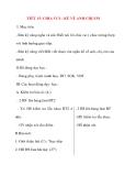 Giáo án lớp 2 môn Tập Làm Văn: TIẾT 15: CHIA VUI – KỂ VỀ ANH CHỊ EM