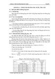Chương 6: Tính toán đường ống nước, ống gió