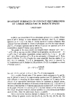 """Báo cáo toán học: """"Invariant subspaces of compact perturbations of linear operators in Banach spaces """""""