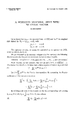 """Báo cáo toán học: """"A weighted bilateral shift with no cyclic vector """""""