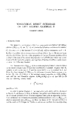 "Báo cáo toán học: ""Topological direct integrals of left Hilbert algebras"""