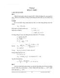 Bài tập kỹ thuật nhiệt - Chương 6
