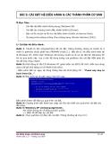 Giáo trình lắp ráp, cài đặt máy vi tính - Bài 5