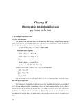 Giáo trình tối ưu hóa - Chương 2