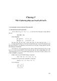 Giáo trình tối ưu hóa - Chương 5
