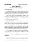Sợi qang và công nghệ SDH - Phần 1 Sợi quang - Chương 1