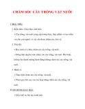 Giáo án môn đạo đức lớp 4 :Tên bài dạy : CHĂM SÓC CÂY TRỒNG VẬT NUÔI