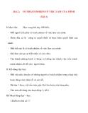 Giáo án lớp 5 môn Đạo Đức: Bài 2 :CÓ TRÁCH NHIỆM VỀ VIỆC LÀM CỦA MÌNH (Tiết 1)