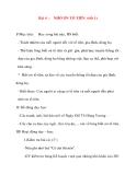 Giáo án lớp 5 môn Đạo Đức: Bài 4 :NHỚ ƠN TỔ TIÊN (tiết 1)