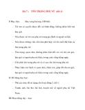 Giáo án lớp 5 môn Đạo Đức: Bài 7 :TÔN TRỌNG PHỤ NỮ (tiết 1)