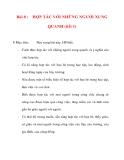 Giáo án lớp 5 môn Đạo Đức: Bài 8 :HỢP TÁC VỚI NHỮNG NGƯỜI XUNG QUANH (tiết 1)