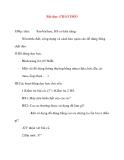 Giáo án lớp 5 môn Khoa Học: Bài dạy: CHẤT DẺO