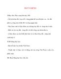 Giáo án lớp 5 môn Địa Lý: ĐẤT VÀ RỪNG