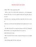 Giáo án lớp 5 môn Địa Lý: THƯƠNG MẠI VÀ DU LỊCH
