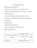 Giáo án lớp 5 môn Địa Lý: VÙNG BIỂN NƯỚC TA