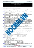 Đề ôn thi hóa học 12 - 2