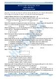 Đề ôn thi hóa học 12 - 1