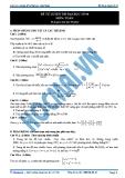Đề ôn thi toán học 12 - 4