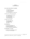 Nhập môn kỹ nghệ phần mềm - Chương 4