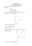 Lý thuyết môn kỹ thuật điều khiển tự động - Chương số 2