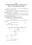 Kỹ thuật điều khiển tự động - Chương 5