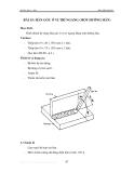 Thực hành hàn hồ quang - Tập 1 - Bài 15