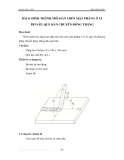 Thực hành hàn hồ quang - Tập 1 - Bài 8