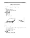 Thực hành hàn khí - Tập 1 - Bài 10