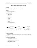 Thực hành hàn khí - Tập 1 - Bài 2