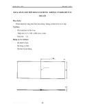 Thực hành hàn khí - Tập 1 - Bài 6