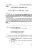 Quản trị chất lượng - Chương 4