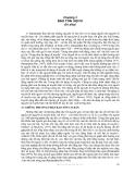 GIÁO TRÌNH QUỸ GEN VÀ BẢO TỒN QUỸ GEN ( PGS.TS VŨ VĂN LIẾT ) - Chương 3