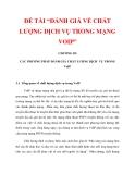 """ĐỀ TÀI """"ĐÁNH GIÁ VỀ CHẤT LƯỢNG DỊCH VỤ TRONG MẠNG VOIP"""" CHƯƠNG III_1"""