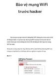 Bảo vệ mạng WiFi trước hacker