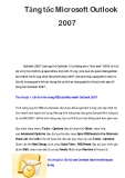 Tăng tốc Microsoft Outlook 2007
