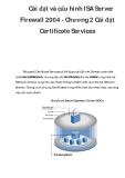 Cài đặt và cấu hình ISA Server Firewall 2004 - Chương 2
