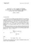 """Báo cáo toán học: """"Bounds on the number of bound states for the Schroedinger equation in one and two dimensions """""""