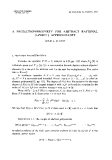 "Báo cáo toán học: ""A projection-property for abstract rational (1-point) approximants """