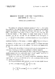 "Báo cáo toán học: ""Ergodic theory and the functional equation (I - T)x = y """
