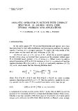 """Báo cáo toán học: """"Analytic operator functions with compact spectrum. III. Hilbert space case: Inverse problem and applications """""""
