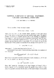 """Báo cáo toán học: """"Control subspaces of minimal dimension, unitary and model operators """""""