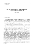 Báo cáo toán học: On the structure of (BCP)-operators and related algebras