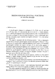 "Báo cáo toán học: ""Pseudo-regular spectral functions in Krein spaces """