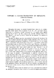 """Báo cáo toán học: """"Toward a characterization of reflexive contractions """""""
