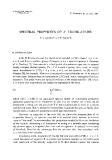 """Báo cáo toán học: """"Spectral properties of $L^p$ translations """""""