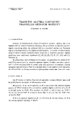 "Báo cáo toán học: ""Transitive algebra containing triangular operator matrices """