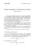 "Báo cáo toán học: Spectral properties of generalized multipliers """